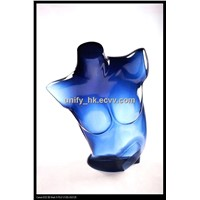 Female Side Body Mannequin - Deep Blue