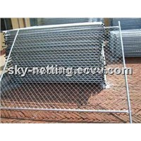 Side Wall Event Fence Mobile Fencing Removable Partitional Fence Panel