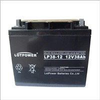 12V 38ah AGM Battery