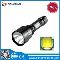 2013 Hot 1000lm Super Bright Portable Police Flash Light