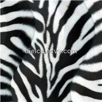 2013 Hot Sell Shiny Yarn Zebra Animal Print Velboa Fabrics For Stuffed Animal Toys And Pillow Cases