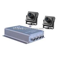 2 Channel Mini Car DVR Camera System