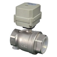 2 way 2''  Stainless Steel Electric Actuator Ball Valve