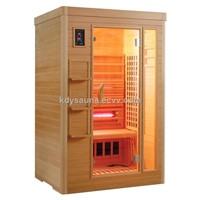 2person infrared sauna cabin KD-5002S