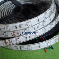 3528 and 5050 LED Strip Lighting  with White PCB (RB-5050-60-RGB-08)