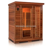 3person carbon infrared sauna KD-5003HT