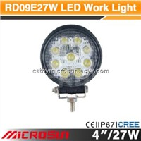 "4"" 27W Off Road LED Work Light"