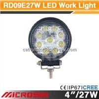"4"" 27W Off Road LED Work Light"