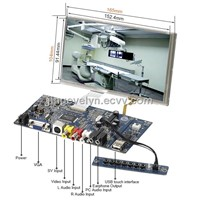 """connecting with raspberry Pi 7"""" lcd touch display with controller broad"""