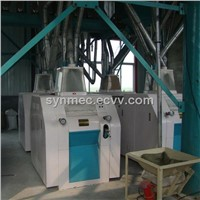 80t/24h complete set of wheat flour mill