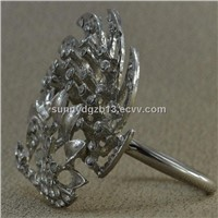 Awesome simple style crystal napkin rings wholesale