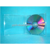 CD case CD box CD cover 10.4mm single  with transparent tray(YP-A101)