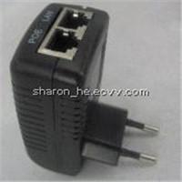 China supplier EU plug ac dc 12v2a 24v1.25a poe power supply