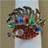 Christmas series accessories metal napkin ring