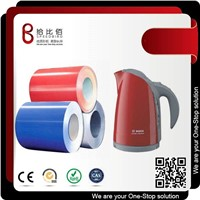 Color Coated Steel Coils with PVC/Pet Film