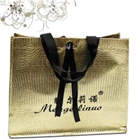 Colorful laser laminated non woven gift bag