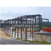 Construction Steel Structure  steel frame structure factory