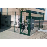 Curved Weld Mesh Heavy-Duty Security Fencing Panels/Belley Fence