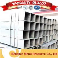 DECORATION SQUARE TUBING SQUARE STEEL TUBE AND PIPE ZINC COATED