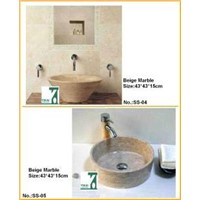 Edit Stone Sink Basin, Bathroom Vanity Sink, Granite Marble Sink, Washbasin Pedestal Basin