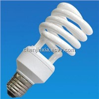 Energy-saving Half Spiral CFL, 8,000 Hours Lifespan, Various Specifications are Available
