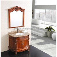 European and classical solid wood bathroom cabinet model:201354