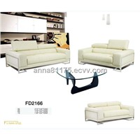 FD2166 3+2 sofa shenzhen leather sofa