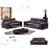 FD2167 office leather sofa