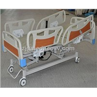 Five-function hospital electric bed
