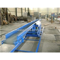 Flat Belt Concrete Feeding Conveyor for Dry Cast Concrete