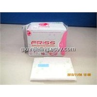 Friss anion sanitary napkin good absorbent ability ,dry cotton surface