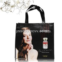 Full color printing laminated non woven shopping bag
