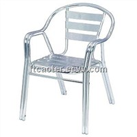 Garden outdoor metal table and chairs