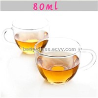 Glass Cup Set / Clear Glass Cup / Glass Material Tea Tool BT750