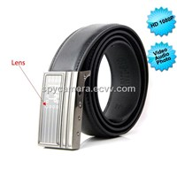 HD 1080P Nonporous Leather Belt Camera DVR with 8GB Memory LM-LB1211