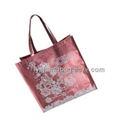 HK Brand Cosmetic Promotional Laser Film Non-Woven Bag