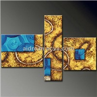Hand Painted Modern Abstract Oil Paintings On Canvas Fine Art