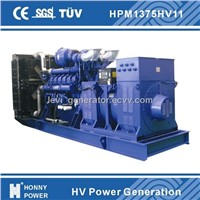 High Voltage generator power station