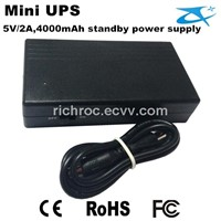 High capacity 6000mAh hot mini 5V ups power supply for fingerprint attendance machine
