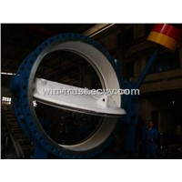 Hydraulic Counterweight Butterfly Valve