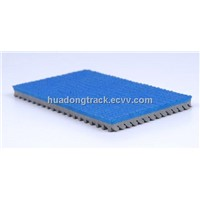 IAAF Certified Prefabricated Rubber Running Athletic Track Surface
