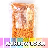 Latex free silicone rubber rainbow loom bands wholesale
