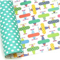 Luxury 2 Sides Printed Sheet Wrapping Paper