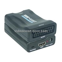 Mini MHL and HDMI to SCART Converters Support NTSC and PAL