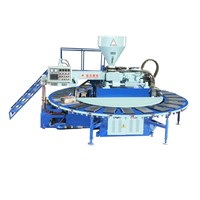 PVC Air Blowing Injection Moulding  shoes machine