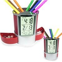 Pen holder clock(K2023A)