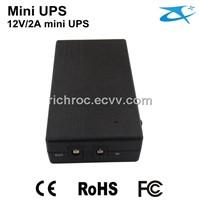 Portable 12V/2A,2000mAh Uninterrupted Power Supply