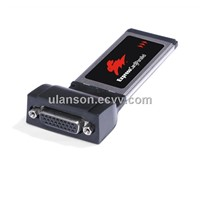 Printer Parallel Port LPT to ExpressCard Express Card 34 Adapter Converter