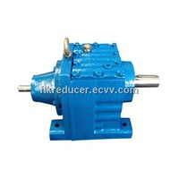 R series helical gear reducer/inline helical gear motor