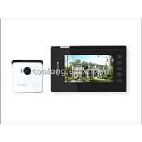 Rainproof 7inch Video Door Camera System for Villa Touch Screen